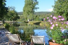 Canal de Bourgogne at écluse 34, Moulin Banet