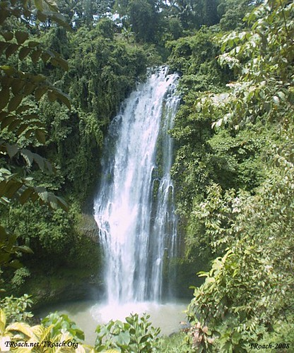 waterfall philippines mindanao kisolon