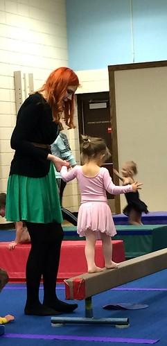 Elise dance class