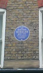 Photo of Mortimer Wheeler blue plaque