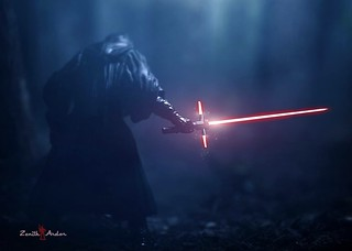 """There's been an awakening... Have you felt it..?""Been wanting to try this shot since seeing the trailer! I've just used my 6inch Black Series Darth Maul, and I think he did a great job!!!CANNOT WAIT for #TheForceAwakens:D"