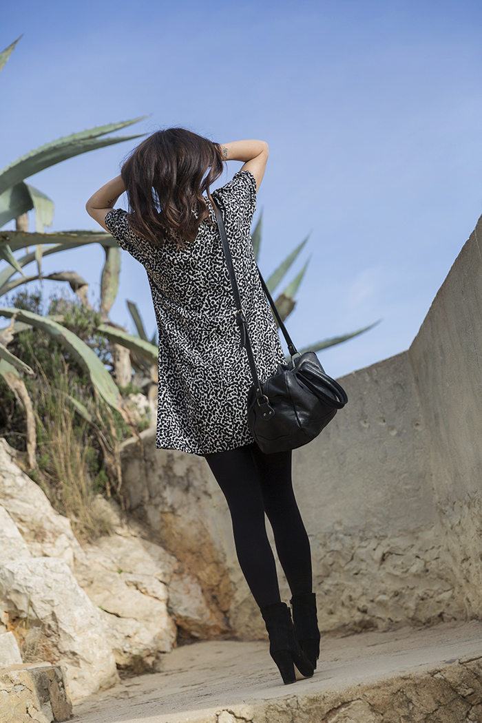 street style barbara crespo cabo la nao javea alicante hakei dress sea views fashion blogger outfit blog de moda