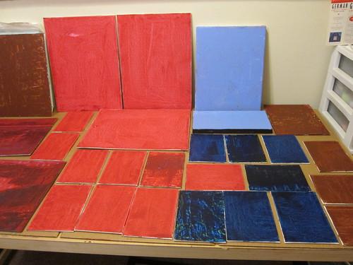 Toning panels