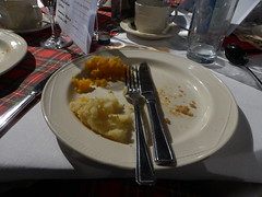 Burns Supper - the aftermath