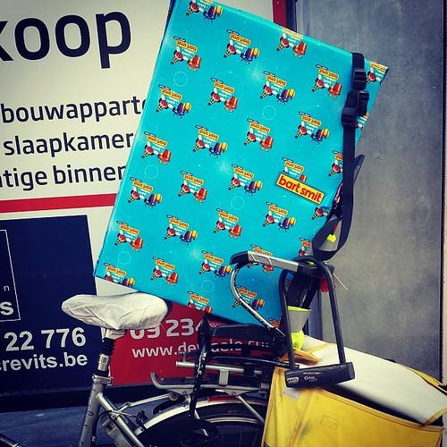 Hoezo, je kunt niet met de fiets gaan omdat je te grote dingen moet kopen? #erkanveel #latergram