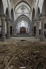 abandoned church S-6