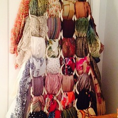 So many scarves. And not even a little sorry. #justcallmesalome