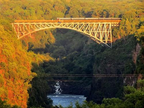 bridge river zimbabwe victoriafalls hdr zambezi riverbridge victoriafallsbridge