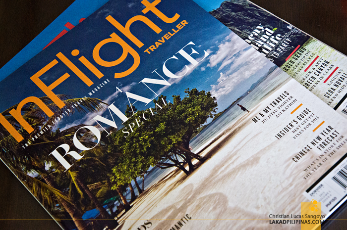 Inflight Traveller Magazine Featuring Busuanga