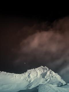 Robert Emmerich - 13 PAN The red Moon over the Alps - Mölltal Gletscher in Kärnten - Austria