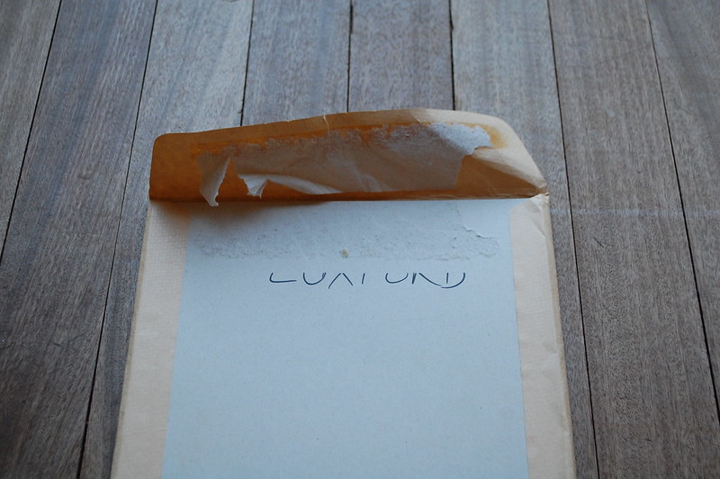 Opening the Luxford envelope