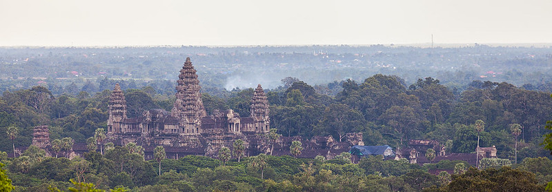 View of Angkor Wat, Cambodia