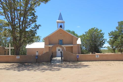 San Antonio Mission Church, Abeytas, NM