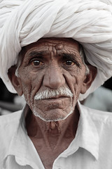 Inde, portraits.