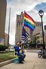 Milwaukee #WeAreOrlando vigil