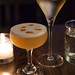 Glass of Crémant d\'Alsace & Farmhouse Sour