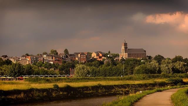 Le long de la Sambre-Belgium
