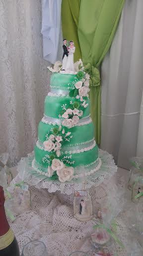 Wedding Cake by Francine Arayon