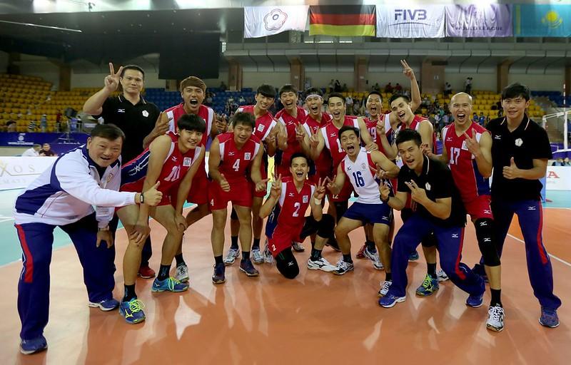 (1)中華男排勇奪世界男排聯賽準決賽門票。圖_翻攝自FIVB世界男排聯賽官網