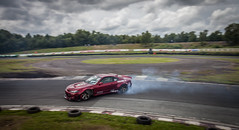 Drifting at Three Sisters Race Track