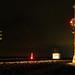 CSX-BnO signals WE Loogootee, Indiana, night by wccnds