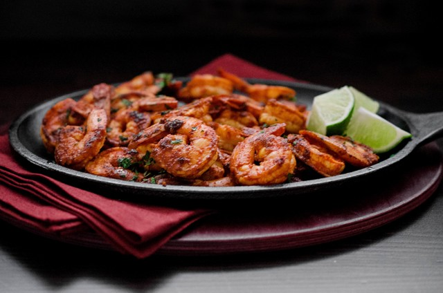 Mangalorean Fried Prawns