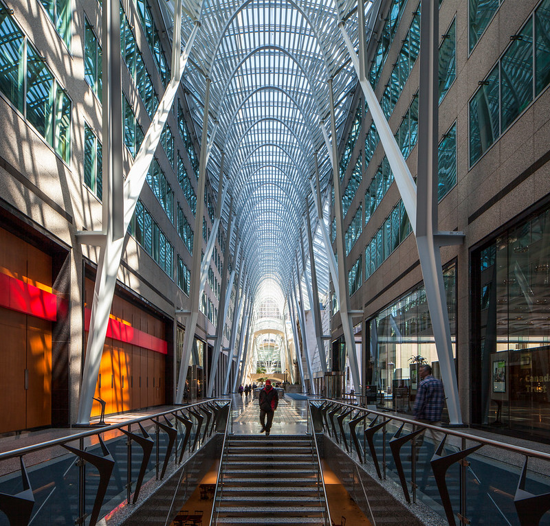 Allen Lambert Galleria at BCE Place