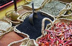 Nigelle zaad op de Bazaar