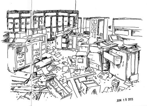 Library Ruin