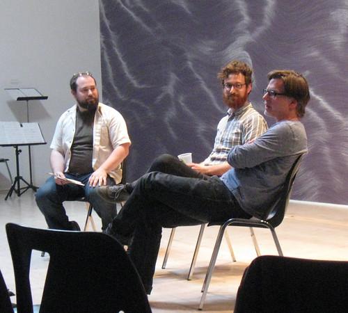 Wandelweiser + Bozzini in Victoria - Christoper Reiche, Daniel Brandes & Thomas Stiegler