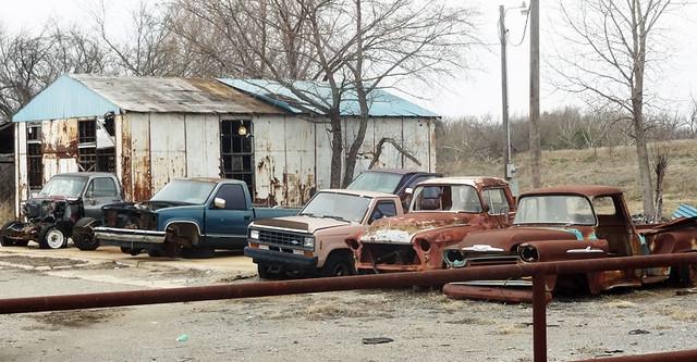 car-junkyard