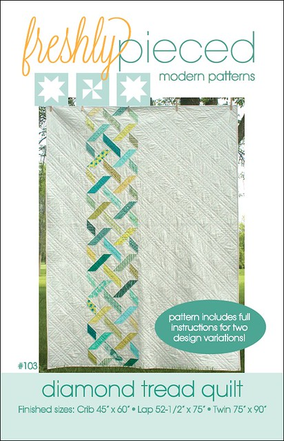 Diamond Tread pattern cover
