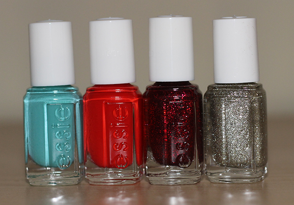 Essie Winter Collection including Where's My Chauffeur, Snap Happy, Leading Lady and Beyond Cozy Nail Polish