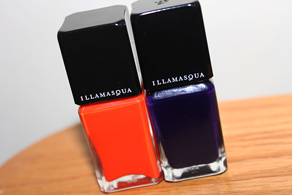 Illamasqua Nail Polish in Whack and Propaganda