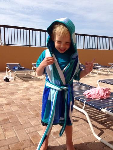 Griff's beach robe