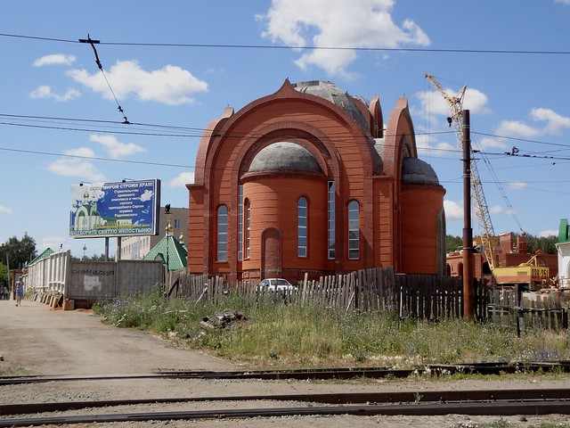 Church of St. Sergei of Radonezh in Chelyabinsk, Russia