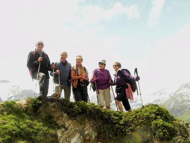 Sur le sentier des crêtes Dent du Villard (1)