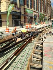 Track Rail Alignment, 3rd St NE