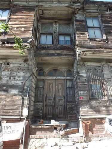 Régi isztambuli faház