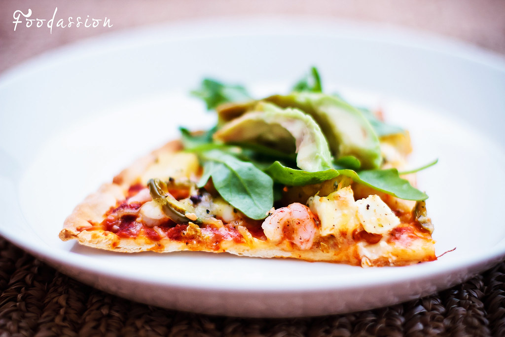 Katkarapupizza