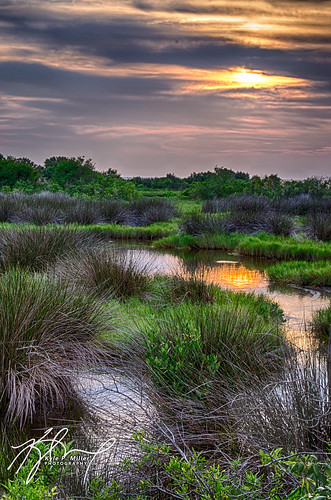 sunset reflection beautiful true creek marine warm florida sharp marsh hdr crystalriver 3ev thephotographyblog