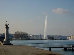 le jet d'eau Genève