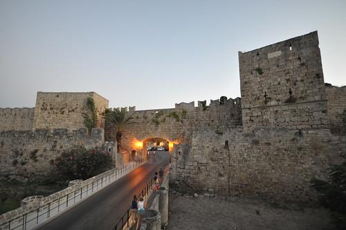 Medieval walls of Rhodes
