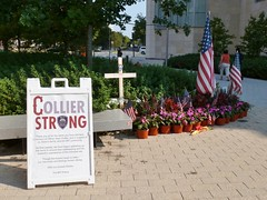 Memorial to slain MIT Officer Sean Collier