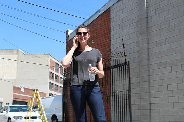 Adidas Neo Brittni Busch fall campaign shoot Los Angeles lisforlois