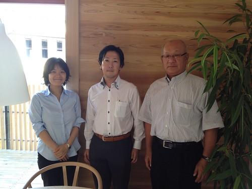[Jパネル]協同組合レングスより中西理事長、森尾様にご来訪いただきました!