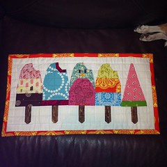 Popsicle mini quilt for SSM3