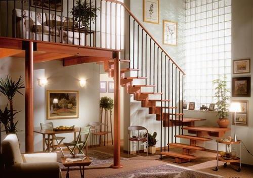 Clasificacion y tipos de madera - Tipos de escaleras de interior ...