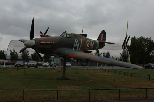 RAF Museum: aereo all'entrata