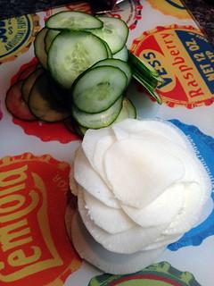 Poitrine de porc thaïe pochée